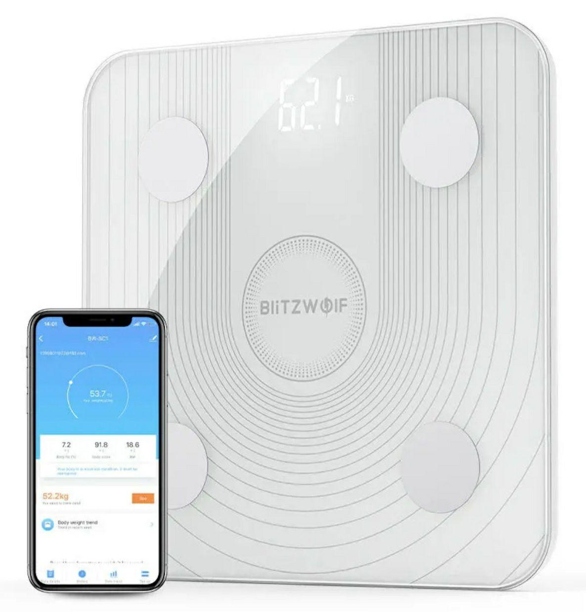 Balance connectée Blitzwolf BW-SC1 avec impedancemétre