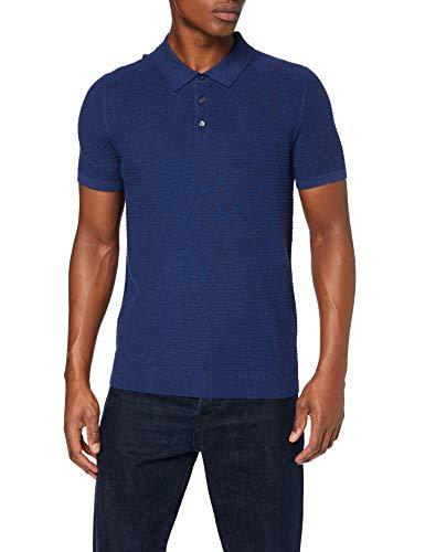 Polo find. pour Homme - Bleu, Taille L