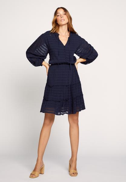 Sélection d'articles en promotion - Ex : robe courte Sinai (bleu marine, du 34 au 42)