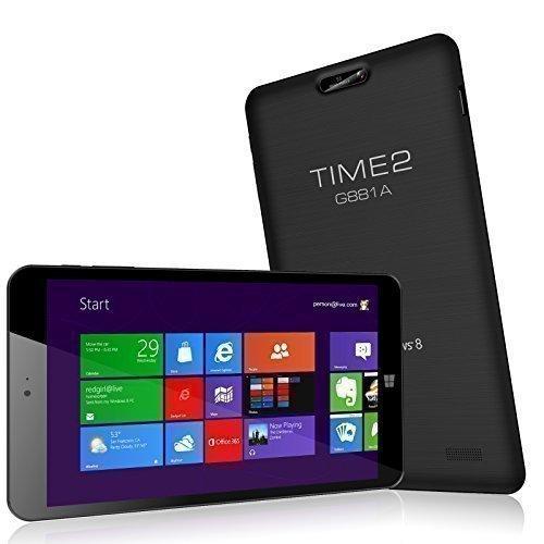 "Tablette 8"" Time2 - 32 Go, 1 Go de Ram, Windows 8.1"