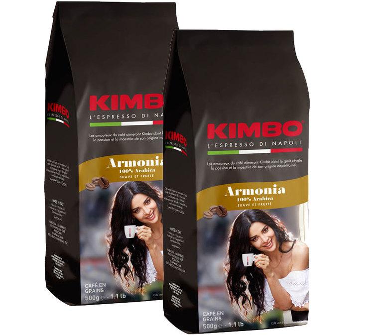 1 Paquet de Café en grain Kimbo Armonia - 1Kg, Torréfaction italienne