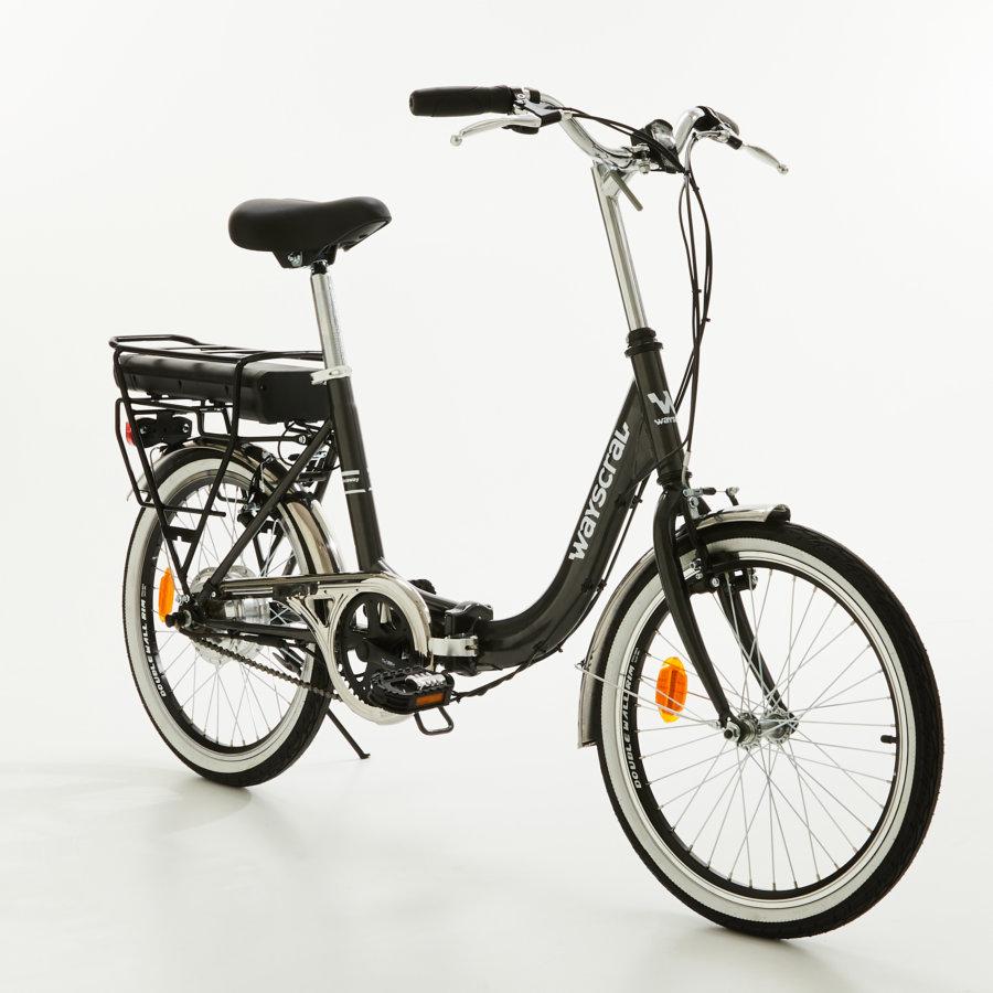 """Vélo électrique pliant 20"""" Wayscral TakeAway E50 - 24 V, 7.8 Ah, noir"""