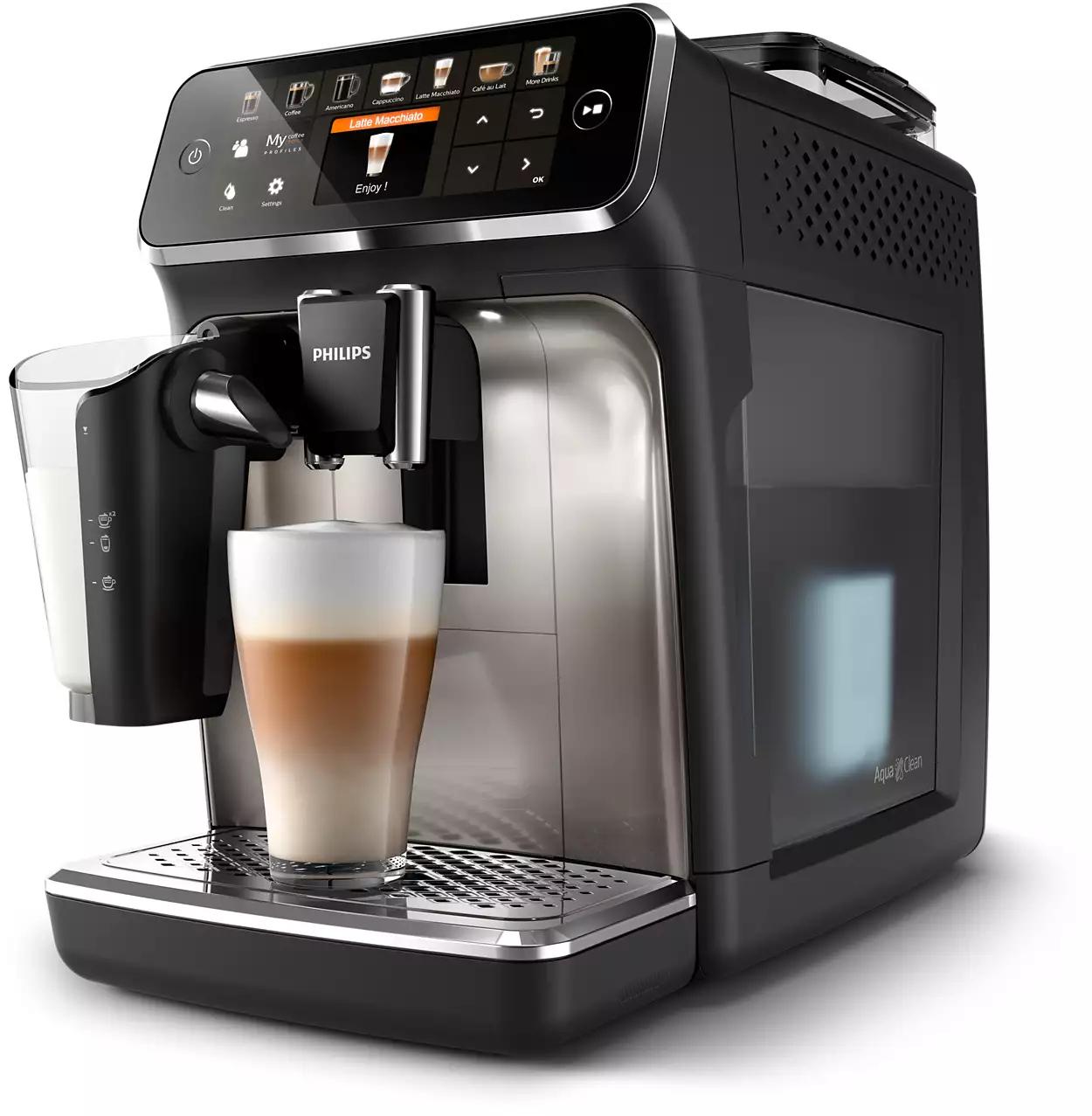 Machines espresso entièrement automatiques Philips 5400 Series EP5447/90 (Via Code)