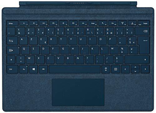 Clavier pour tablette tactile Microsoft Surface Pro Microsoft Type Cover Signature - bleu cobalt