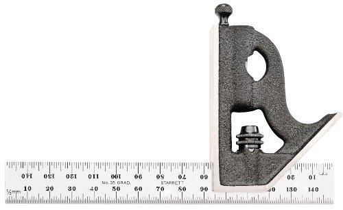 Équerre combinée Angle avec support Starrett 11 Ni-MH 150 - 150 mm, métrique