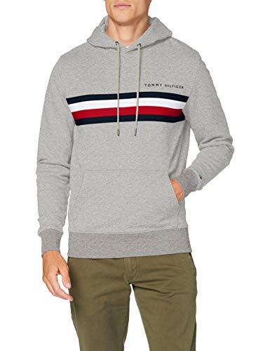 Sweat-shirt Tommy Hilfiger Logo (différents coloris & tailles) à partir de 41.79€ - Ex : gris, taille XS