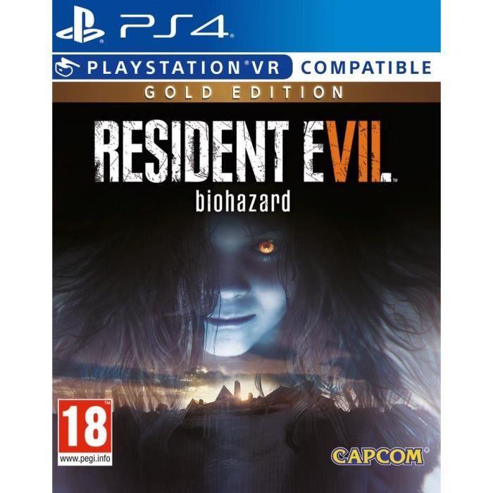 Jeu Resident Evil 7 sur PS4 - Gold Edition