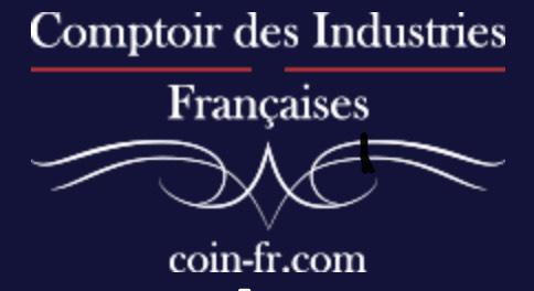 15% de réduction sur tout le site (Comptoir des Industries Françaises)