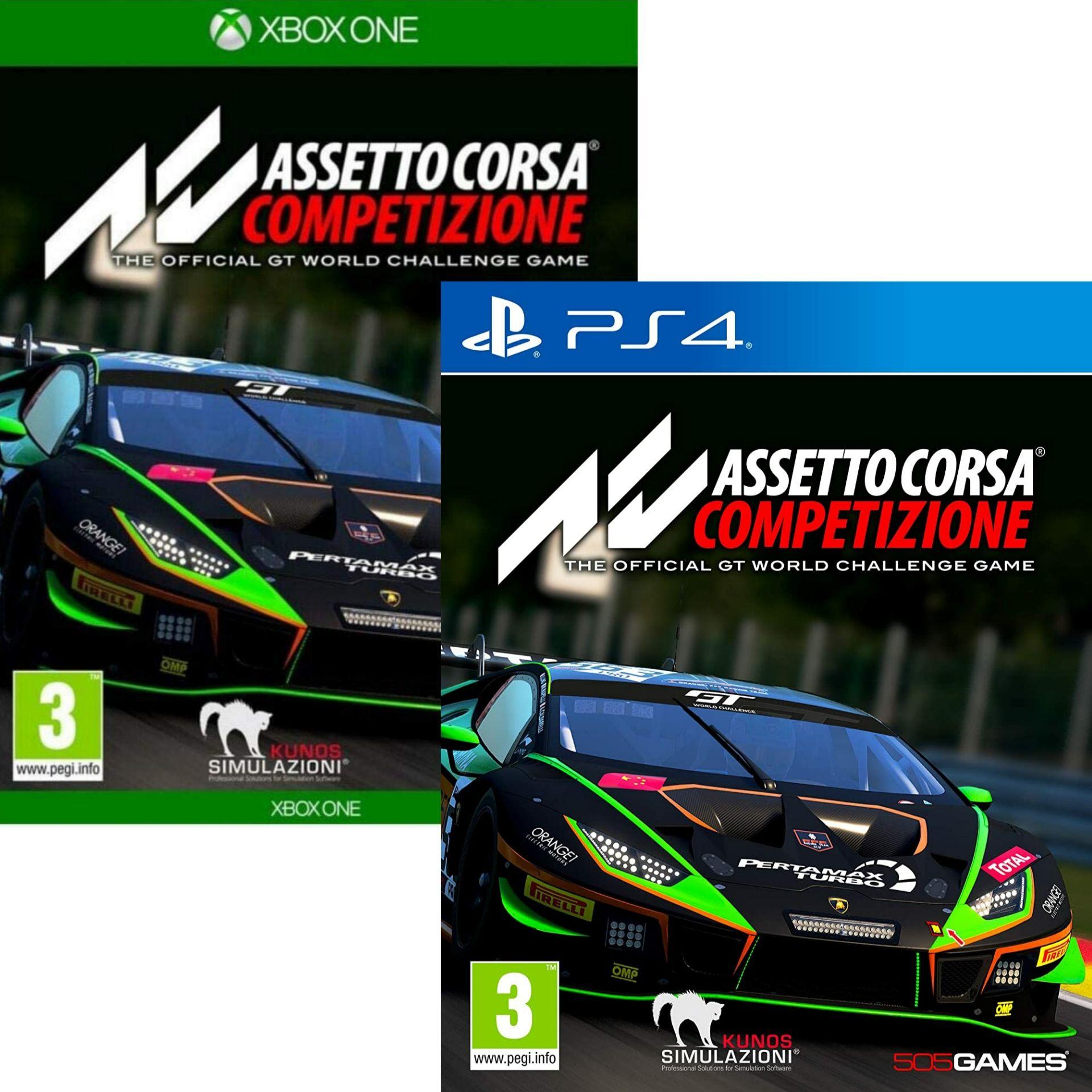 Assetto Corsa Competizione sur PS4 ou Xbox One