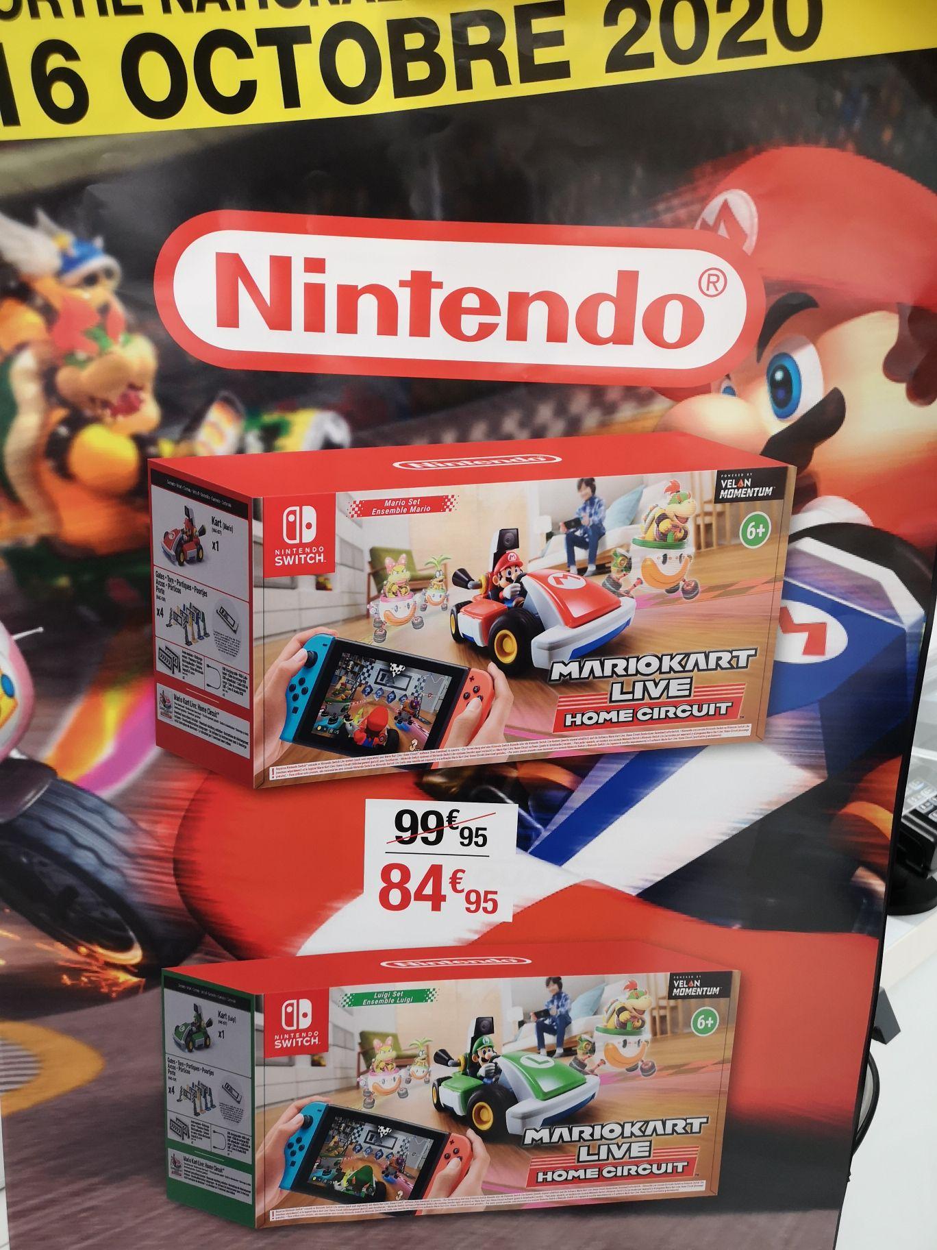 Mario Kart Live Home Circuit Mario ou Luigi sur Nintendo Swicth