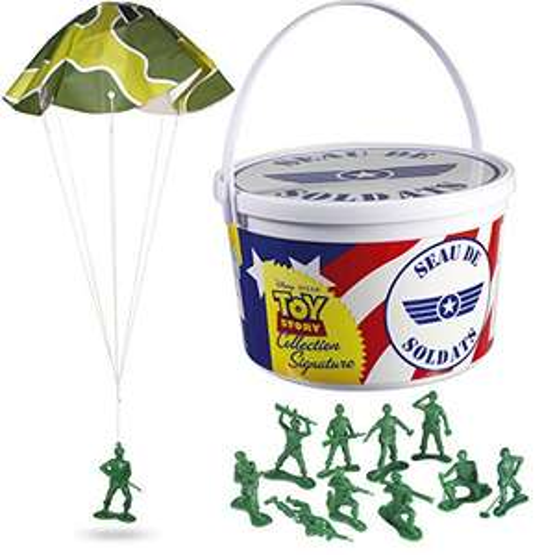 Seau de 72 Soldats Toy Story