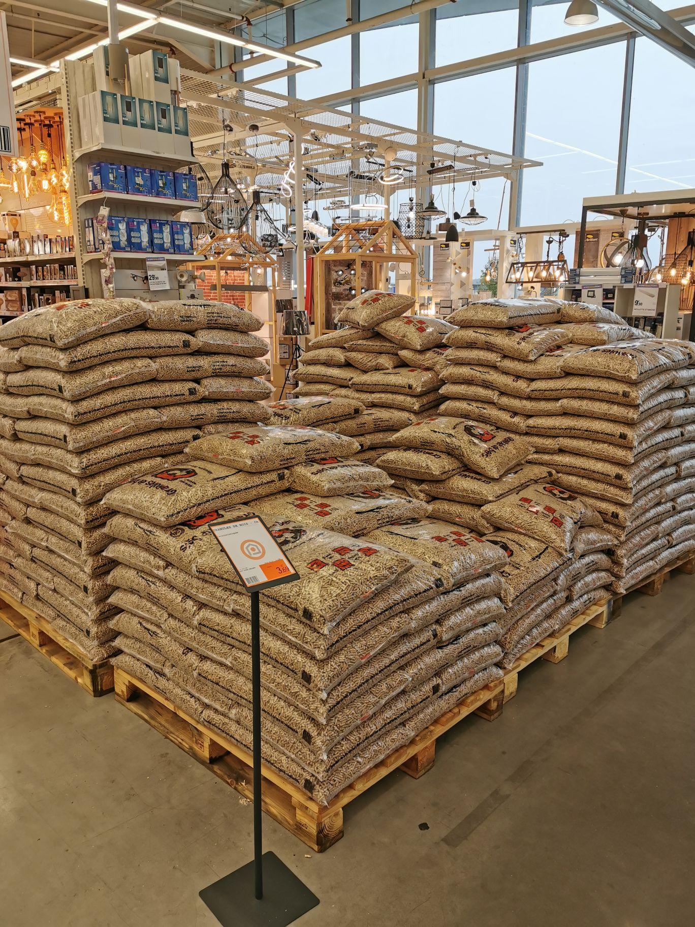 Sac de granulés de bois Haut Doubs Pellets DIN+ (15 kg) - Vesoul (70)