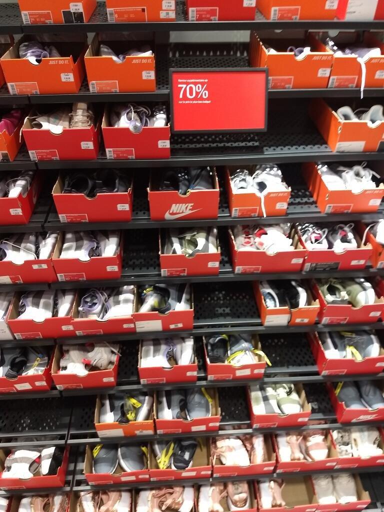 70% de réduction sur une sélection d'articles - Nike Factory Store Plaisir (78)