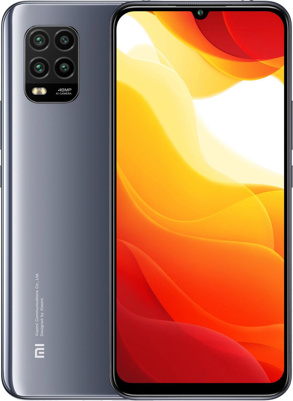 "Smartphone 6.57"" Xiaomi Mi 10 Lite 5G - full HD+, AMOLED, SnapDragon 765, 6 Go de RAM, 64 Go, gris cosmos (vendeur tiers)"