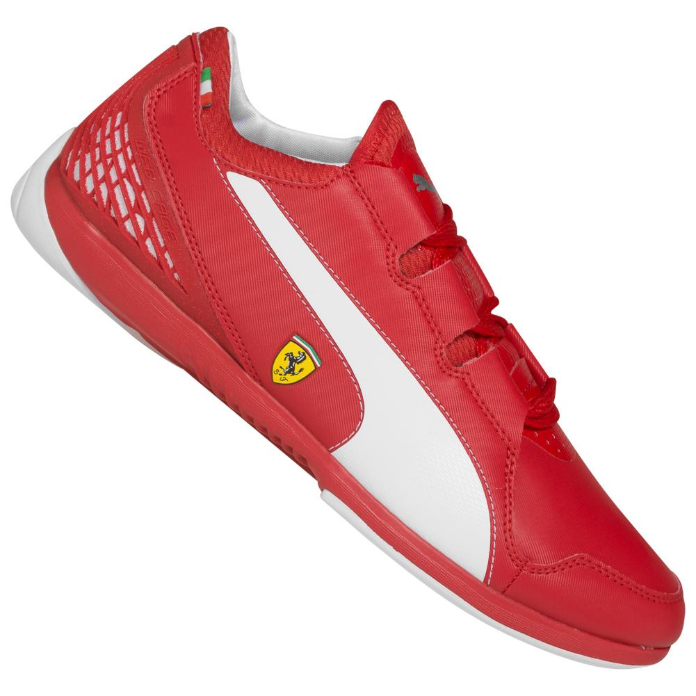 Chaussures Puma Valorosso Scuderia Ferrari WebCage - rouge/blanc (du 42.5 au 46)
