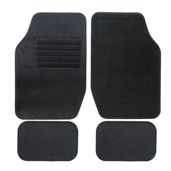 Jeu de tapis universels Ganse - 350 gr/m², Noir (Dans une sélection de magasins)