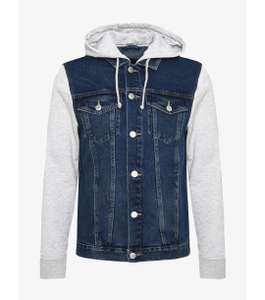 Veste en jean Avec capuche New Look Sleeve - Light blue
