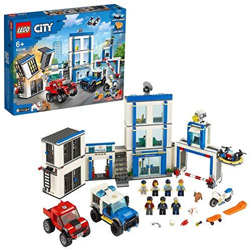 Jeu de construction Lego City (60246) - Le Commissariat de Police