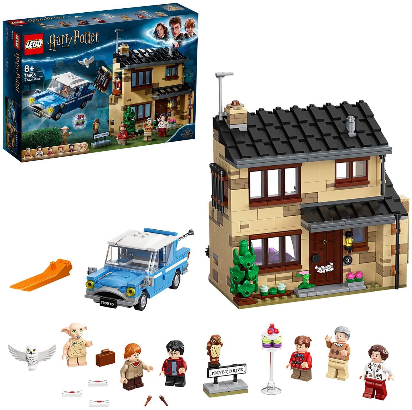Jeu de construction Lego Harry Potter 4 75968 - Privet Drive