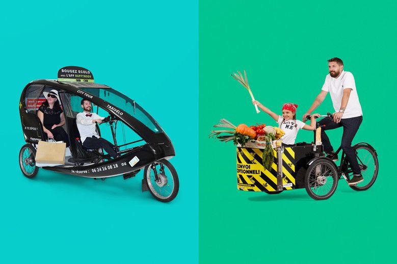 Essai gratuit d'un Vélo-taxi ou Vélo-cargo Happymoov - Lille (59)