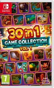Selection de jeux Nintendo Switch à 19,06€ - Ex : 30 in 1 game collection vol. 1