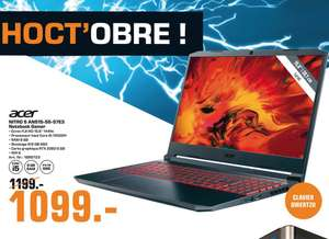 """PC Portable gamer 15.6"""" Acer Nitro 5 AN515-55-57E3 - FHD IPS 144Hz, i5-10300H, 8Go RAM, 512Go NVMe SSD, RTX 2060 (Frontaliers Luxembourg)"""