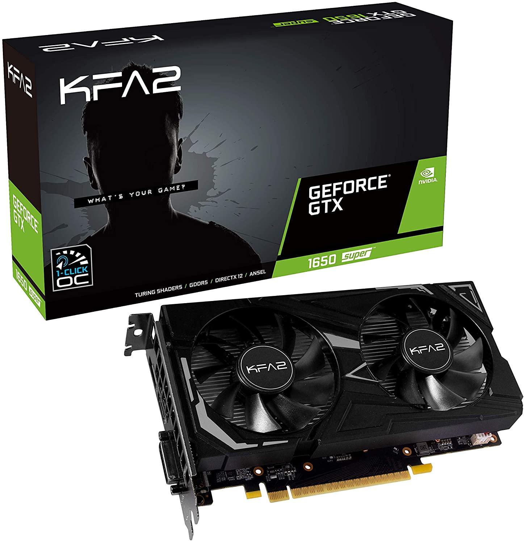 Carte Graphique KFA2 Nvidia GeForce GTX 1650 Super EX OC 4 Go