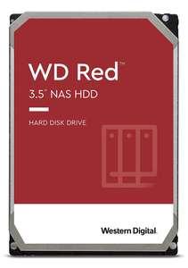 """Disque dur NAS 3.5"""" Western Digital WD Red (WD101EFAX) - 10 To"""