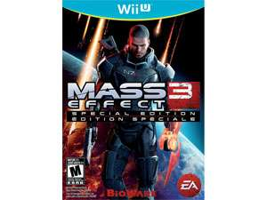 Mass effect 3 sur WII U Edition spéciale
