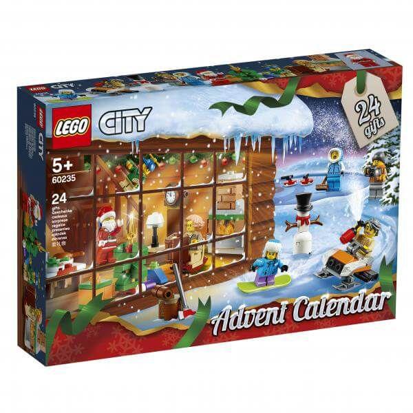 Calendrier de l'Avent Lego City (60235) - Via retrait magasin à Lattes