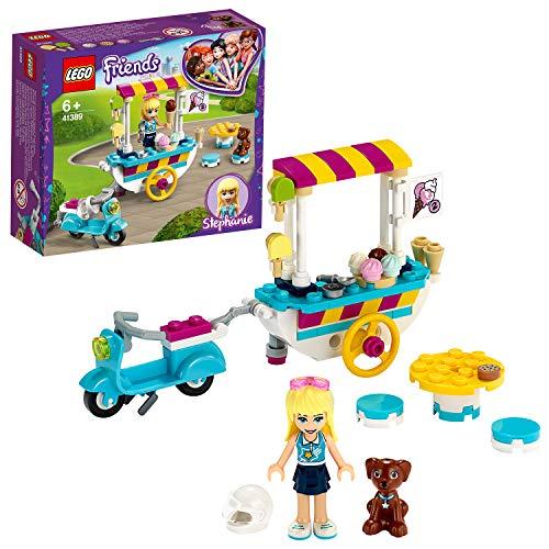 Jouet Lego Friends Stéphanie 41389 - Le chariot de crèmes glacées