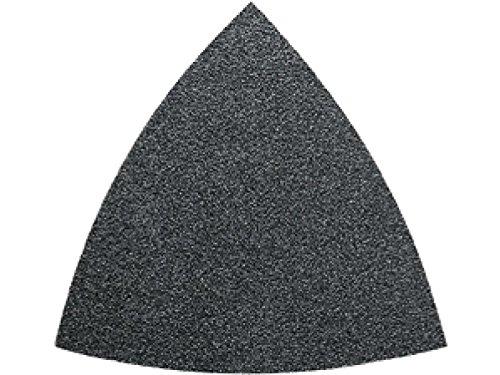 50 Feuilles abrasives triangulaire Fein (10 feuilles grain 60, 80, 120, 180, 240)