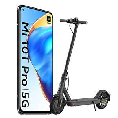 "[Précommande] Smartphone 6.67"" Xiaomi Mi 10T Pro - 128Go, 8Go de Ram + Trottinette Xiaomi M365 Essential"