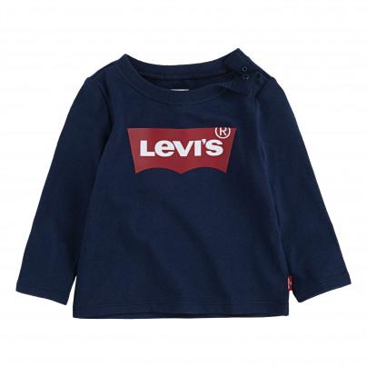 T-Shirt bébé Levi's Kids Dress - Bleu (3 à 24 mois) - destockcenter.com