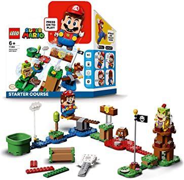 Pack de démarrage Lego Super Mario Les Aventures de Mario + Extension Désert de Pokey (via 11,16€ sur la carte de fidélité)