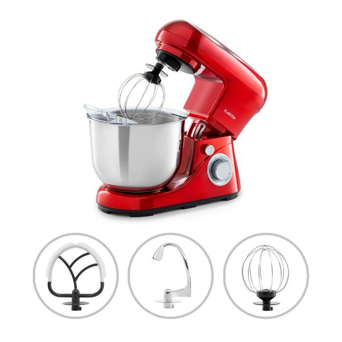 Robot de cuisine multifonction Klarstein Bella Pico 2G - 1200 W, différents coloris (+ 3.5€ en Rakuten Points)
