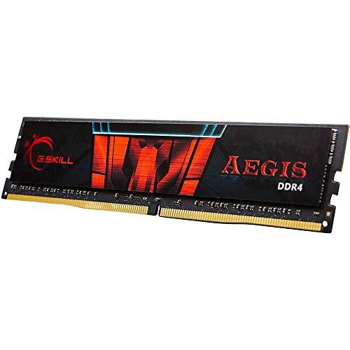 Barette Mémoire RAM G.Skill Aegis F4-3000C16S-8GISB - 8Go, DDR4, 3000MHz, CL16