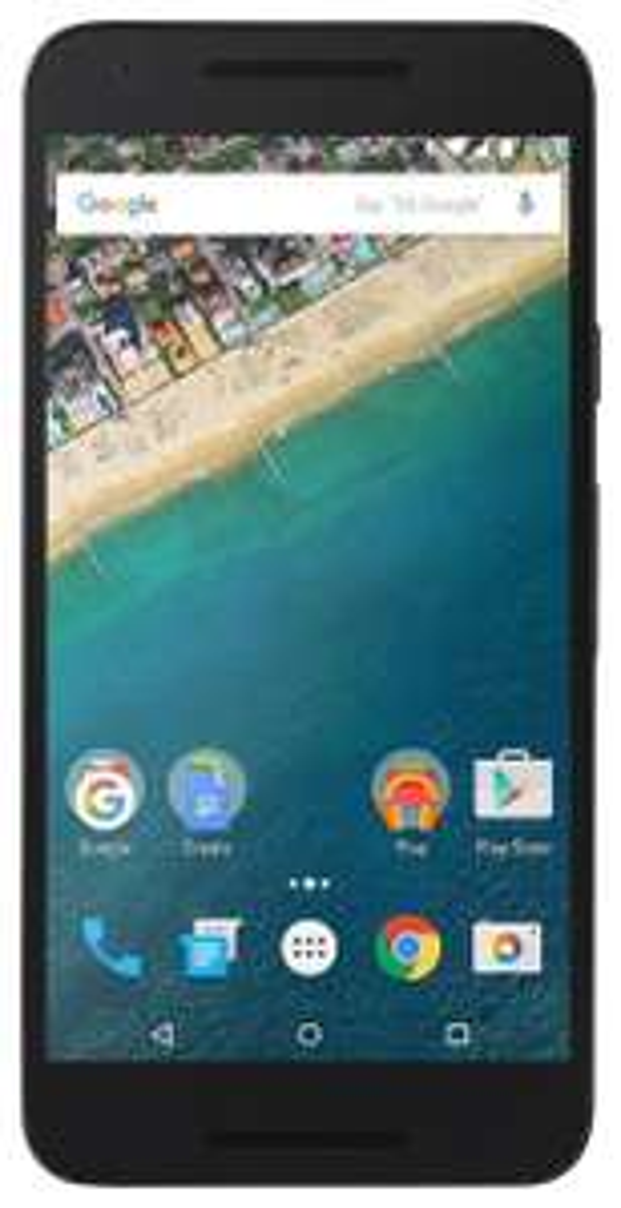 "Smartphone 5.2"" LG Nexus 5X 16 Go (Hexa-Core, 2 Go RAM) - Blanc et Noir"