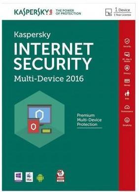 5 Licences Multi-Device  Kaspersky Internet Security 2016
