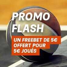 [Clients PMU] 5€ offerts en freebet pour 5€ de paris sur le match de NBA Miami Heat / Los Angeles Lakers (pas de cote minimum)
