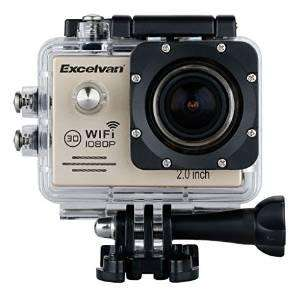 "Caméra sportive Excelvan TC-J6 Multifonction 2.0"" HD WIFI  1080p"
