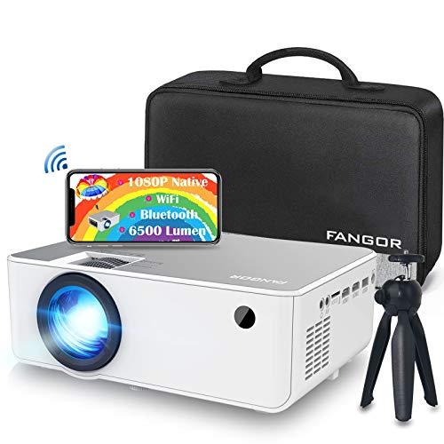 Vidéo-projecteur Fangor - 1920x1080 NATIF - WIFI CastMirro - Bluetooth connectable (vendeur tiers)