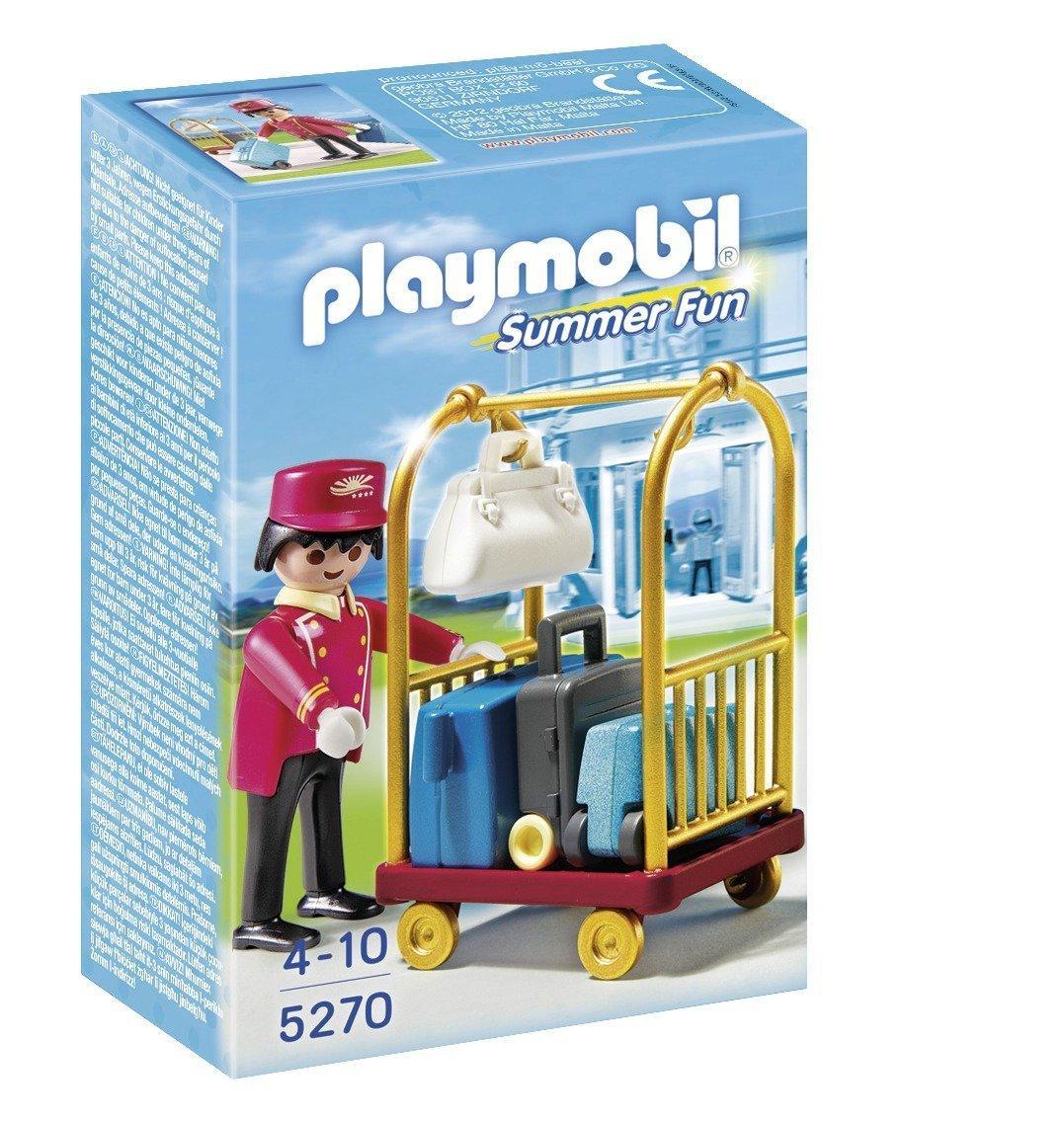 [Panier Plus] Jeu de Construction Playmobil 5270 - Bagagiste