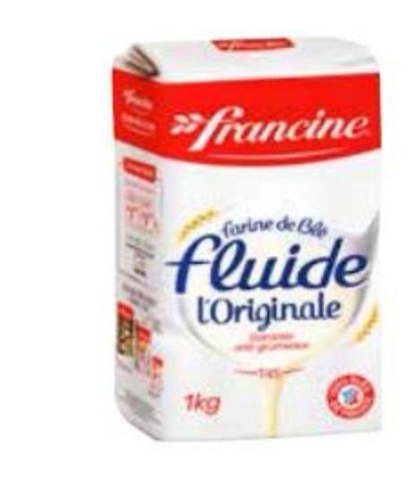 [Carte Colruyt Plus] Paquet de farine de blé fluide T45 l'originale Francine - 1Kg
