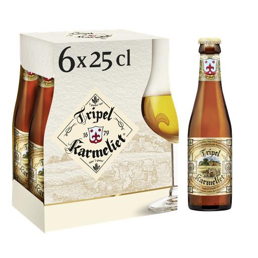 Pack de 6 bières Triple Karmeliet - 6 x 25 cl