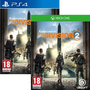 The Division 2 sur PS4 & Xbox One
