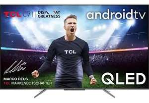 "TV QLED 55"" TCL 55C715 - 4K UHD, HDR 10+, Dolby Vision, Android TV (Frontaliers Allemagne)"