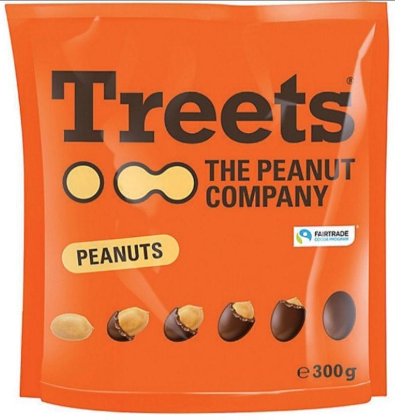 Paquet de confiserie aux cacahuètes Treets - 300 g