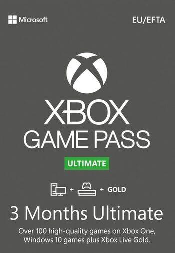 Abonnement de 3 mois au service Xbox Game Pass Ultimate (dématérialisé)