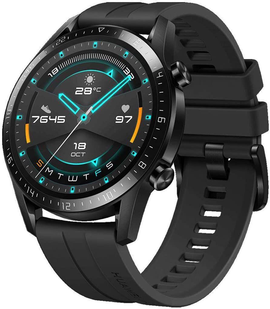 Montre connectée Huawei Watch GT 2 Sport - GPS, 46 mm, Noir